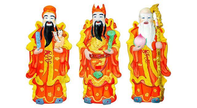 phúc - Chi tiết cách bài trí tượng Phúc Lộc Thọ từ chuyên gia phong thủy Phucloctho