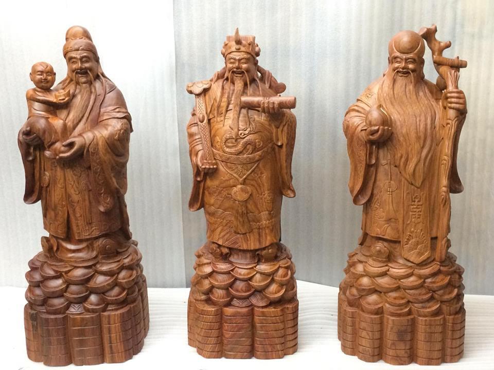 Chi tiết cách bài trí tượng Phúc Lộc Thọ từ chuyên gia phong thủy