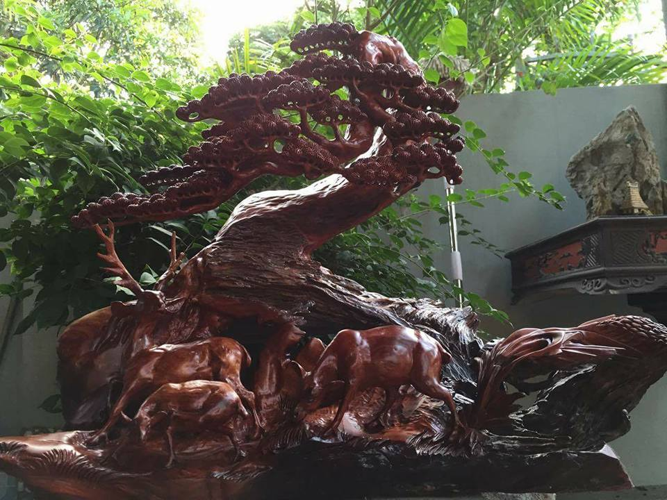 Những lý do bạn không nên bỏ qua tượng gỗ phong thủy