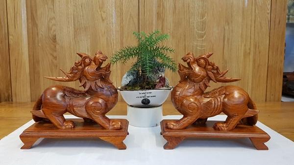 Cách phân biệt 3 linh vật: Kỳ lân, Nghê và Tỳ hưu