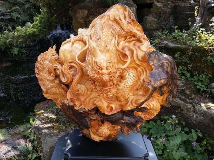 Cùng tìm hiểu đồ mỹ nghệ bằng gỗ trong khoa học phong thủy